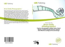 Bookcover of Brian Duffy (Photographer)