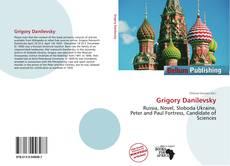 Capa do livro de Grigory Danilevsky
