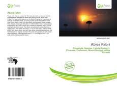 Abies Fabri的封面
