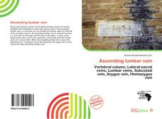 Bookcover of Ascending lumbar vein