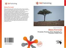 Bookcover of Abies Forrestii