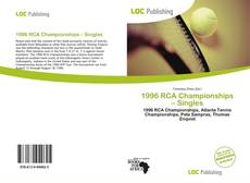 Bookcover of 1996 RCA Championships – Singles