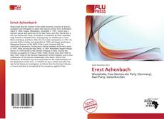 Bookcover of Ernst Achenbach