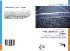 1996 Stockholm Open – Singles的封面
