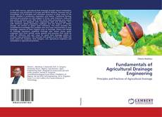 Обложка Fundamentals of Agricultural Drainage Engineering
