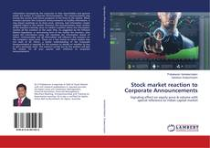 Bookcover of Stock market reaction to Corporate Announcements