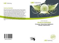 Bookcover of Andrea Adolfati