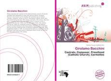 Girolamo Bacchini kitap kapağı