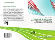Bookcover of Frederick B. Abramson