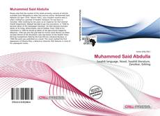 Bookcover of Muhammed Said Abdulla