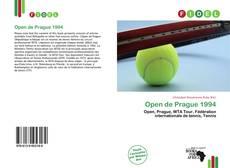 Open de Prague 1994 kitap kapağı