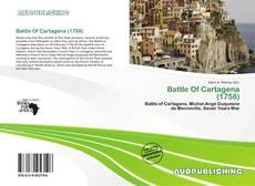 Battle Of Cartagena (1758)的封面