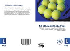 Bookcover of 1996 Budapest Lotto Open