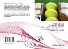 Bookcover of 1996 Chase Championships