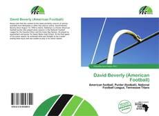 David Beverly (American Football) kitap kapağı