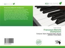 Portada del libro de Francesco Bianchi (Composer)
