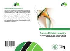Capa do livro de Antônio Rodrigo Nogueira