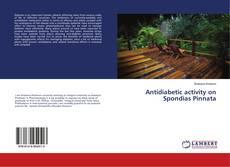 Capa do livro de Antidiabetic activity on Spondias Pinnata