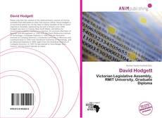 Bookcover of David Hodgett
