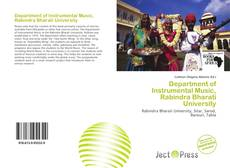 Couverture de Department of Instrumental Music, Rabindra Bharati University