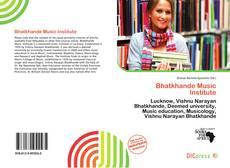 Portada del libro de Bhatkhande Music Institute