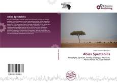 Bookcover of Abies Spectabilis