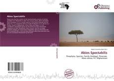 Abies Spectabilis的封面