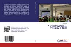 A Critical Psychosocial Pedagogy of Space kitap kapağı