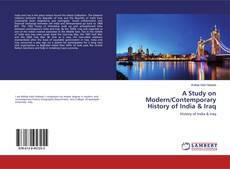 Borítókép a  A Study on Modern/Contemporary History of India & Iraq - hoz