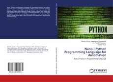 Copertina di Nano - Python Programming Language for Automation