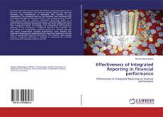 Capa do livro de Effectiveness of Integrated Reporting in financial performance