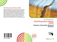Couverture de Chief Reputation Officer (CRO)