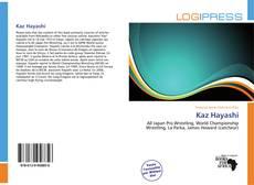 Capa do livro de Kaz Hayashi