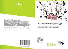 Bookcover of Compliance (physiology)