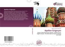 Buchcover von Apollon Grigoryev