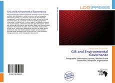 Portada del libro de GIS and Environmental Governance