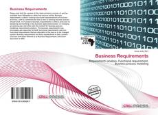 Business Requirements的封面