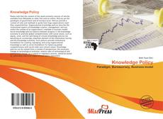 Bookcover of Knowledge Policy