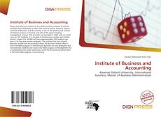 Bookcover of Institute of Business and Accounting