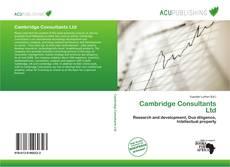 Обложка Cambridge Consultants Ltd