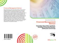 Buchcover von Financial Management Advisor