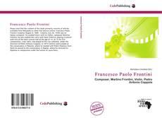 Portada del libro de Francesco Paolo Frontini
