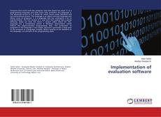Bookcover of Implementation of evaluation software