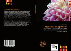 Bookcover of Acanthixalus Spinosus