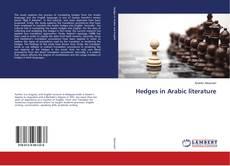 Hedges in Arabic literature kitap kapağı