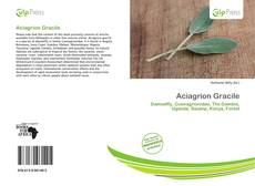 Bookcover of Aciagrion Gracile