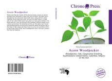Bookcover of Acorn Woodpecker