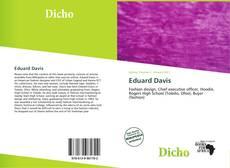 Borítókép a  Eduard Davis - hoz