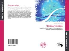 Copertina di Coronary sulcus