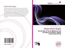 Bookcover of Giulio Carlo Argan